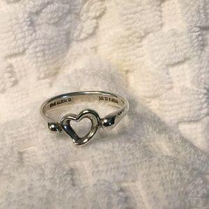 Tiffany  Elsa Peretti 925 heart ring. Size 6